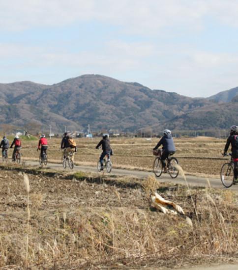 筑波山麓巡りは自転車がオススメ!
