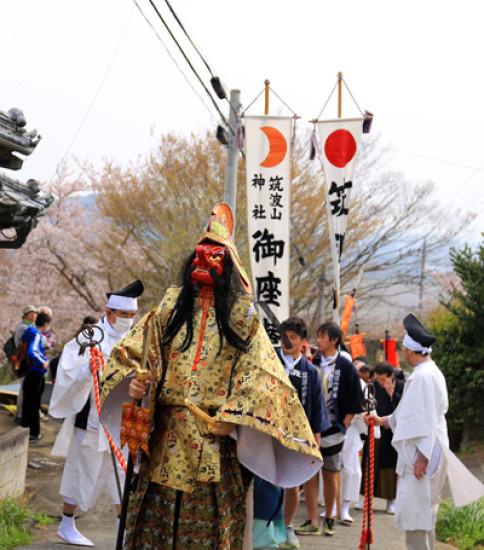 筑波山神社「春の御座替祭」が執り行われました!