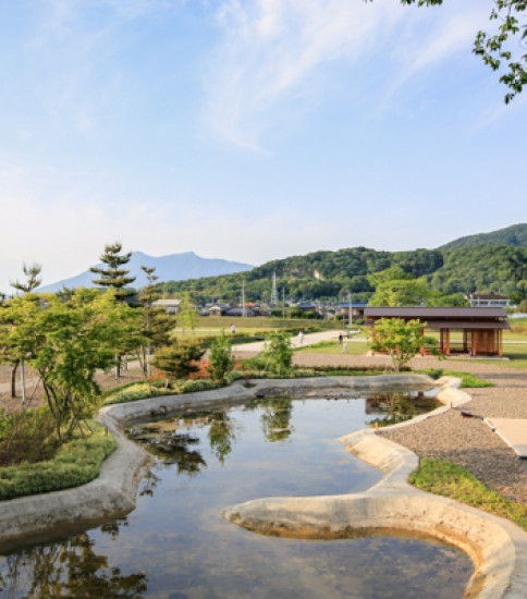 筑波山麓の新名所「小田城歴史広場」が開園しました!