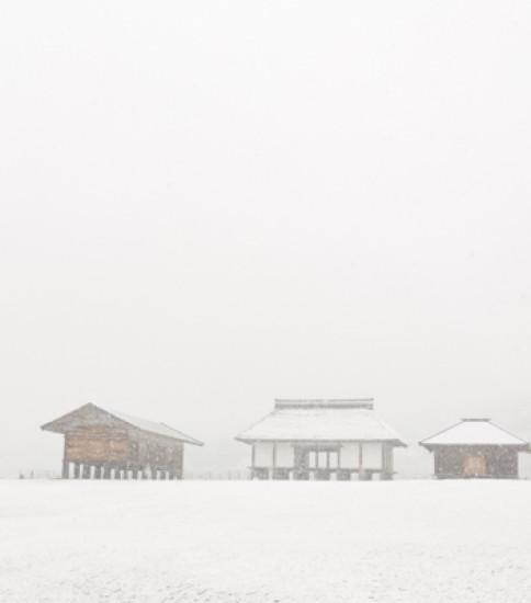 筑波山麓冬景色!