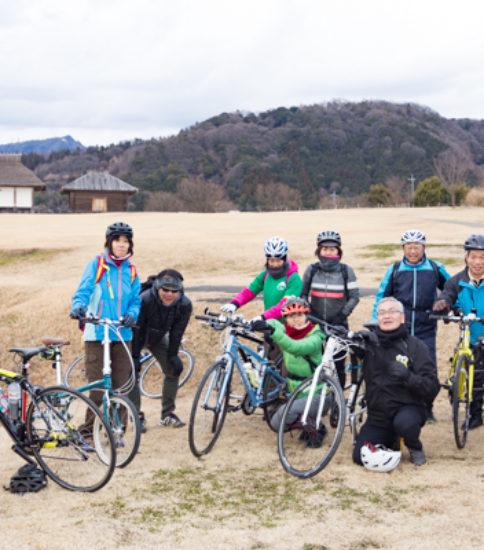 寒かった!!美味しかった〜♡の筑波山麓を自転車で巡る文化体験ツアー