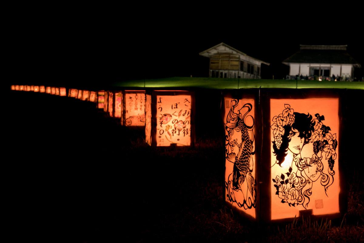 平沢官衙遺跡で「万灯夏まつり」が開催されました!