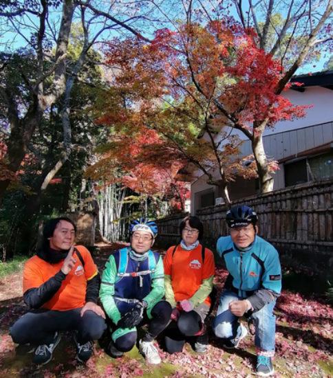 「秋の桜川市を満喫!紅葉狩りと御朱印めぐりポタリング」にご参加いただきありがとうございました!